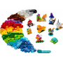 LEGO 11013 Kreativ-Bauset mit durchsichtigen Steinen